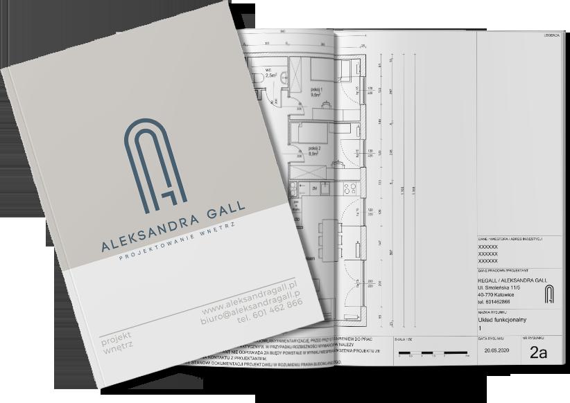 Aleksandra Gall - projektowanie wnętrz